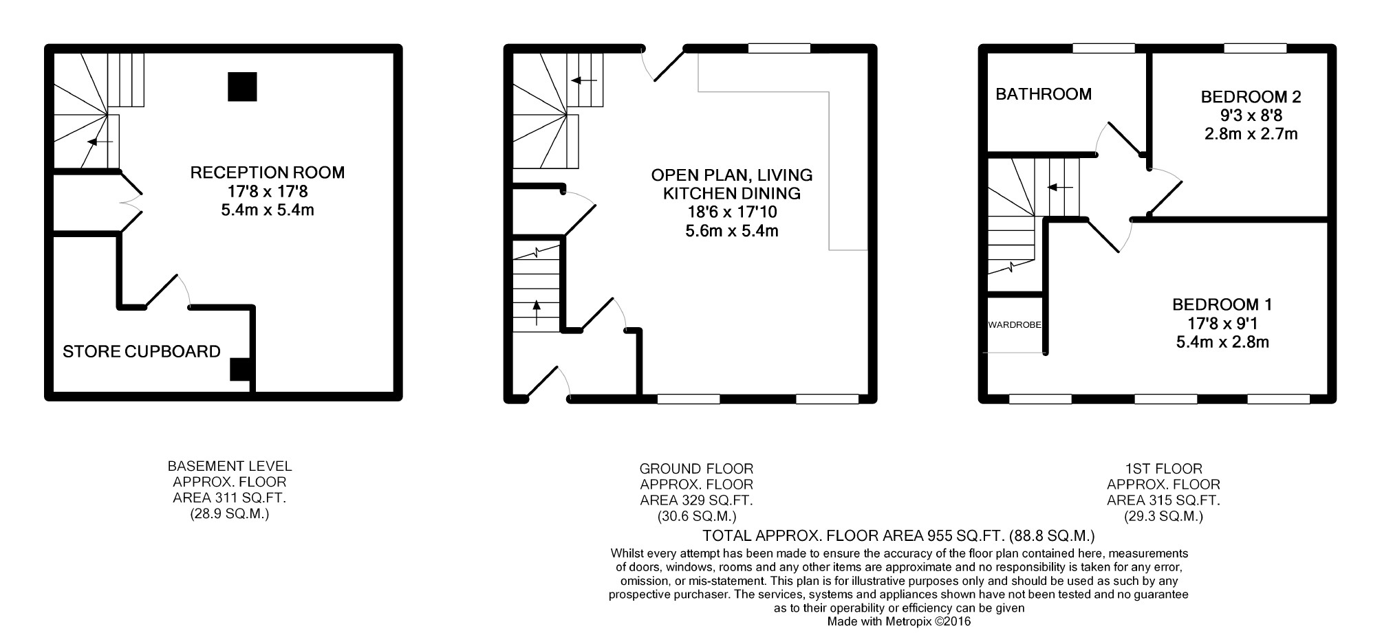 2 bedroom terraced house for sale in lewes