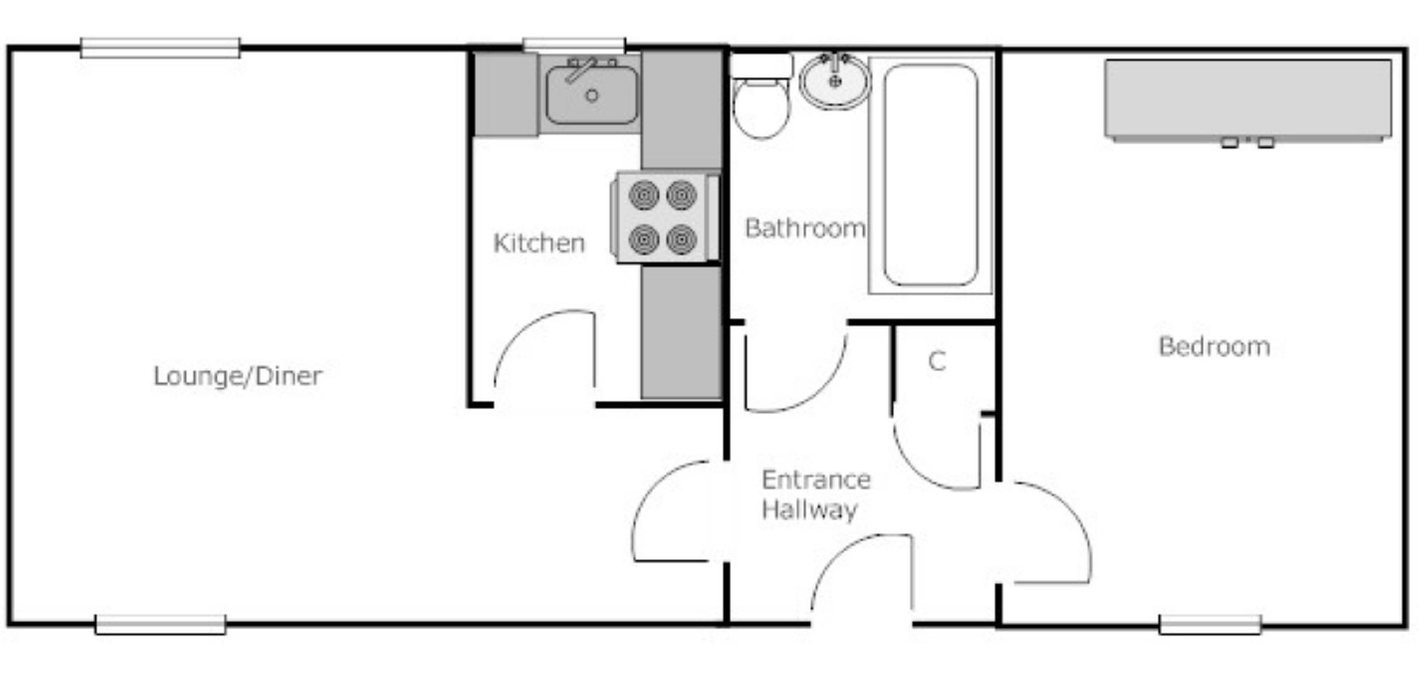 1 bedroom Flat for sale in Bloxwich