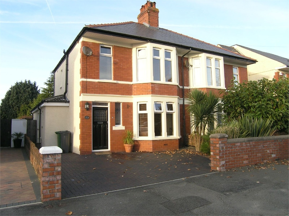 3 bedroom semi detached house for sale in cardiff