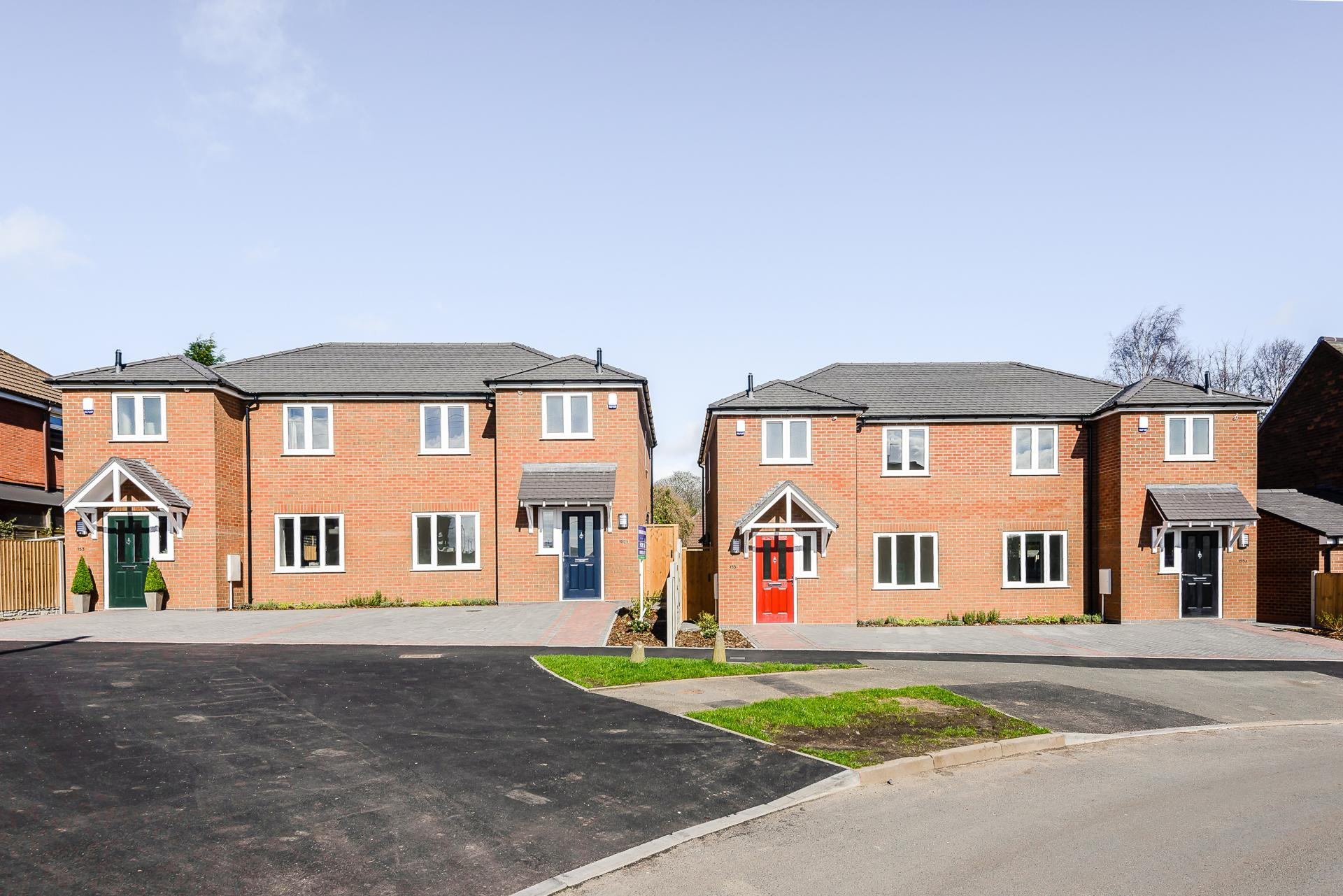 New Build Homes Lichfield Road Walsall