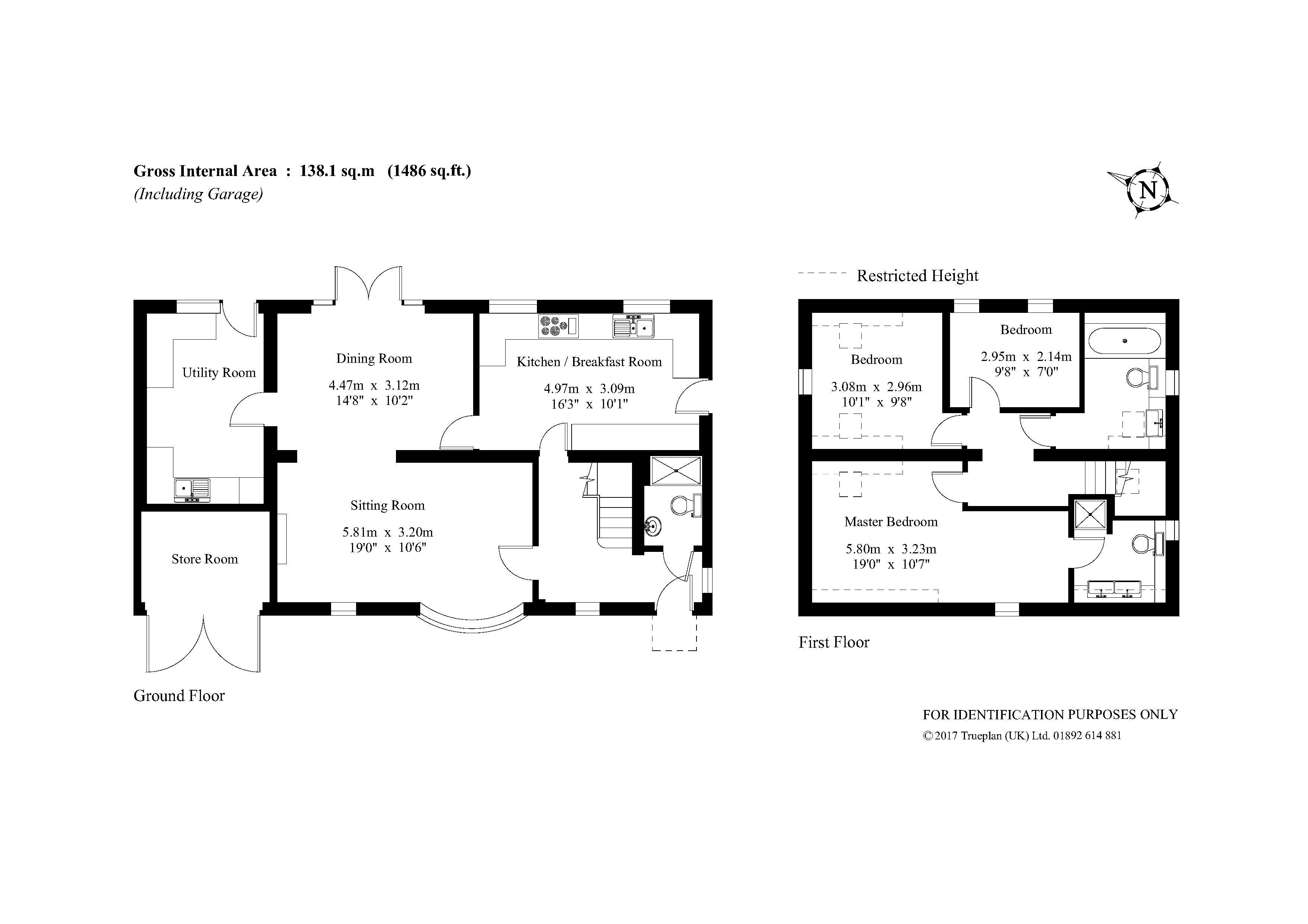 3 Bedroom Detached House For Sale In Horley