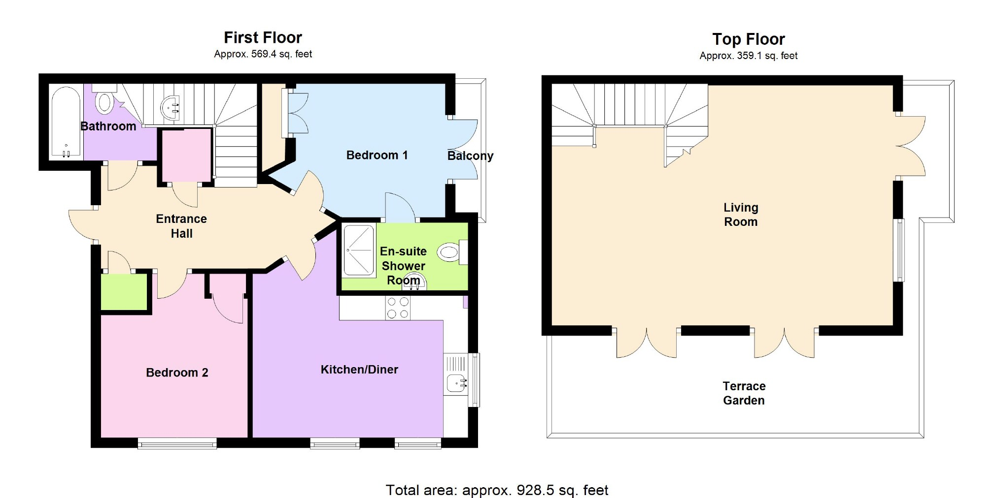 2 bedroom apartment for sale in nottingham for Apartment design guide part 2