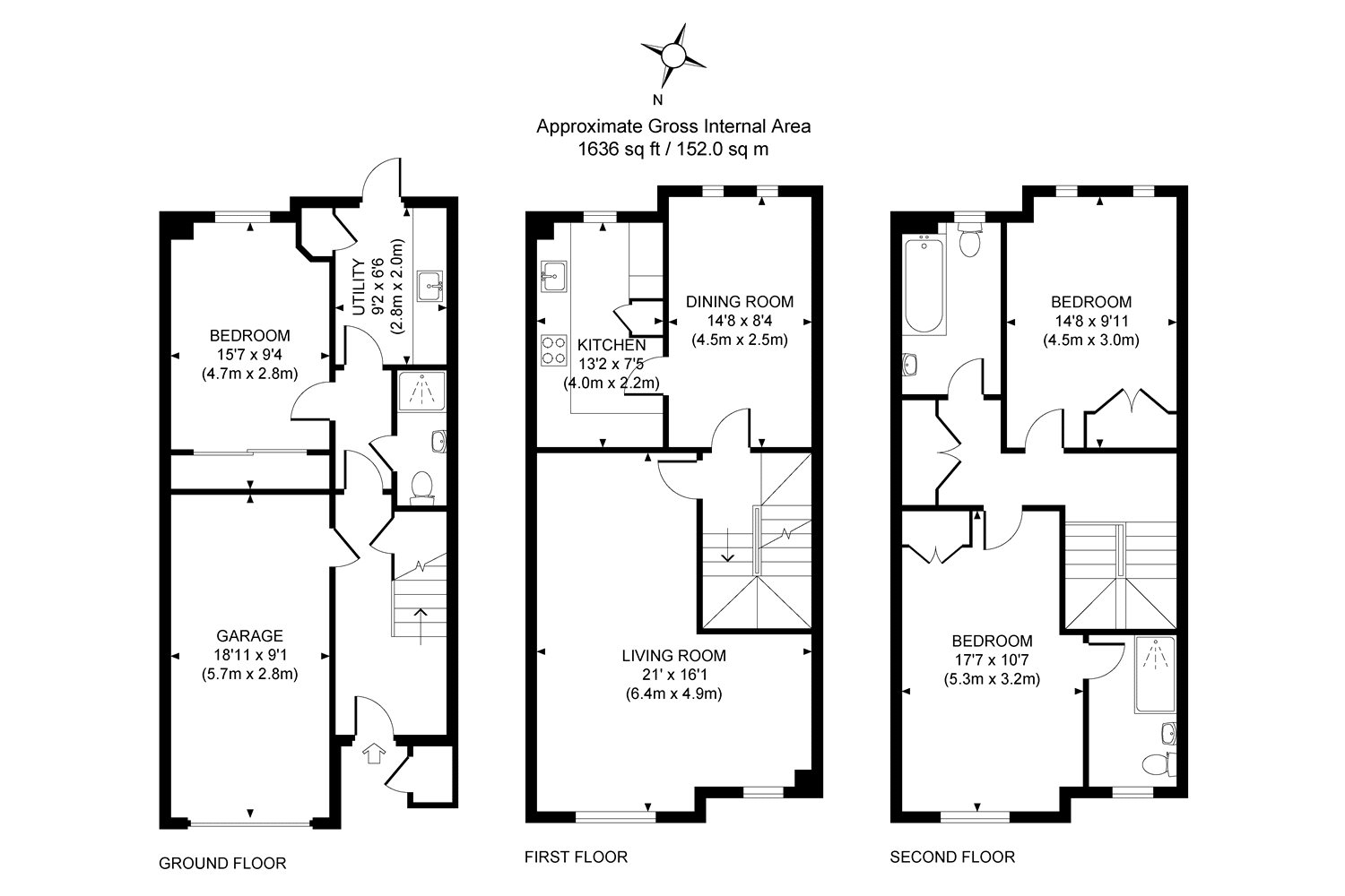 Bath Taps Shower Attachment 3 Bedroom House For Sale In Woking