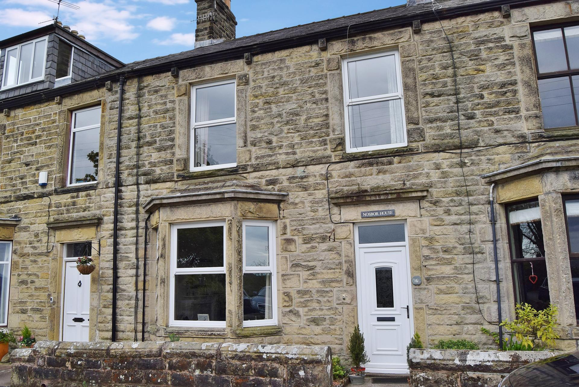 3 Bedrooms Terraced House for sale in Tyne View Terrace, Fellside
