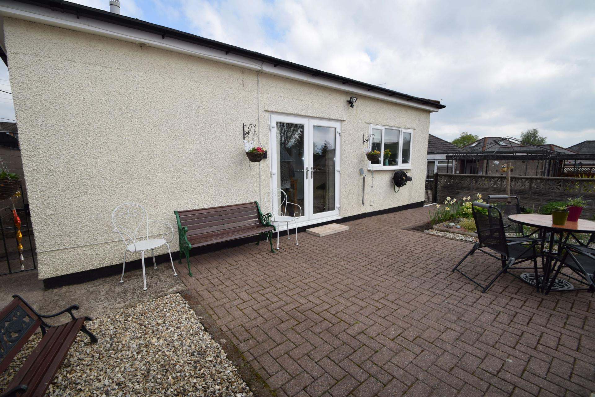 Bedroom bungalow for sale in cwmbran