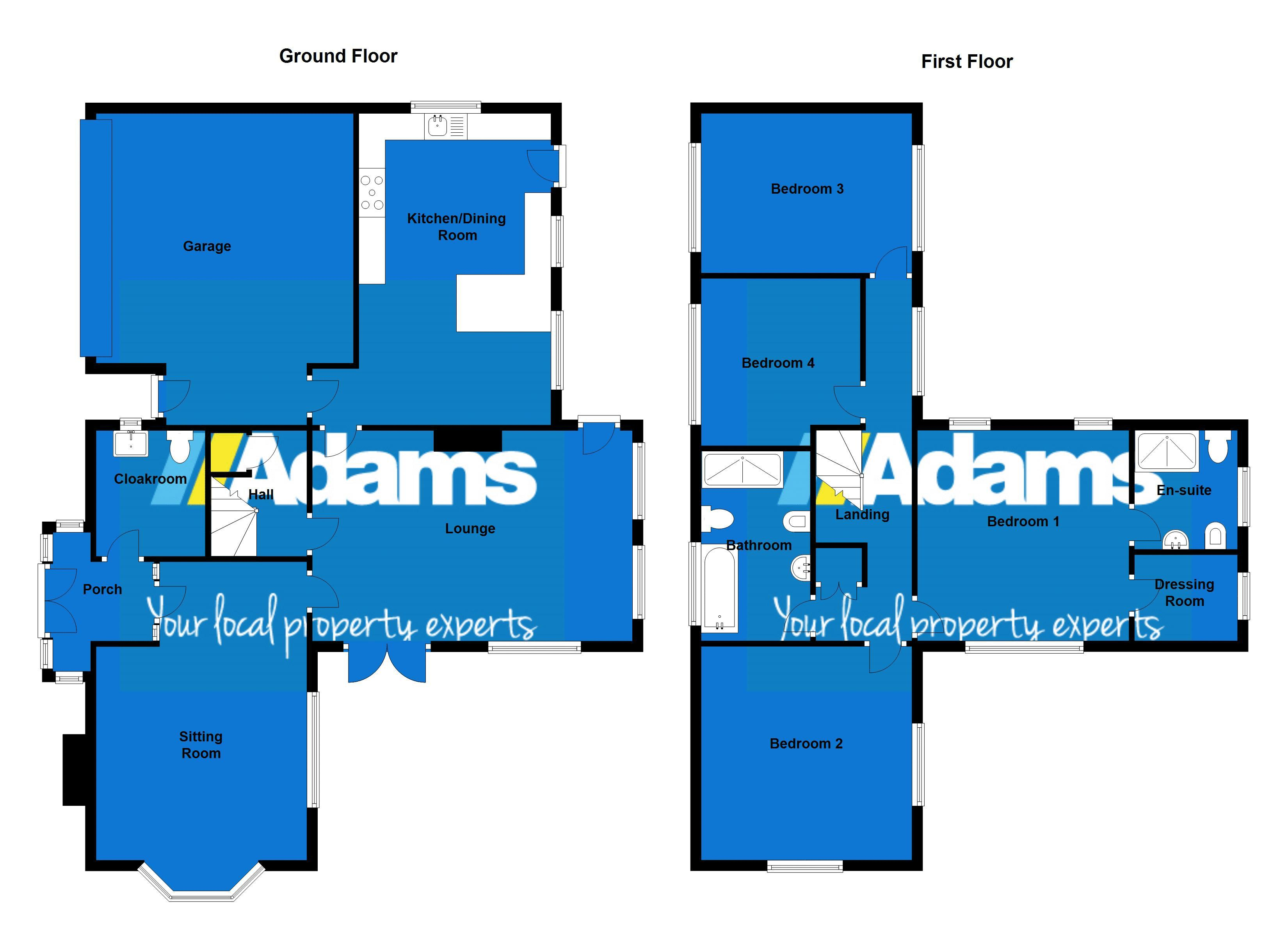 4 Bedroom House For Sale In Warrington