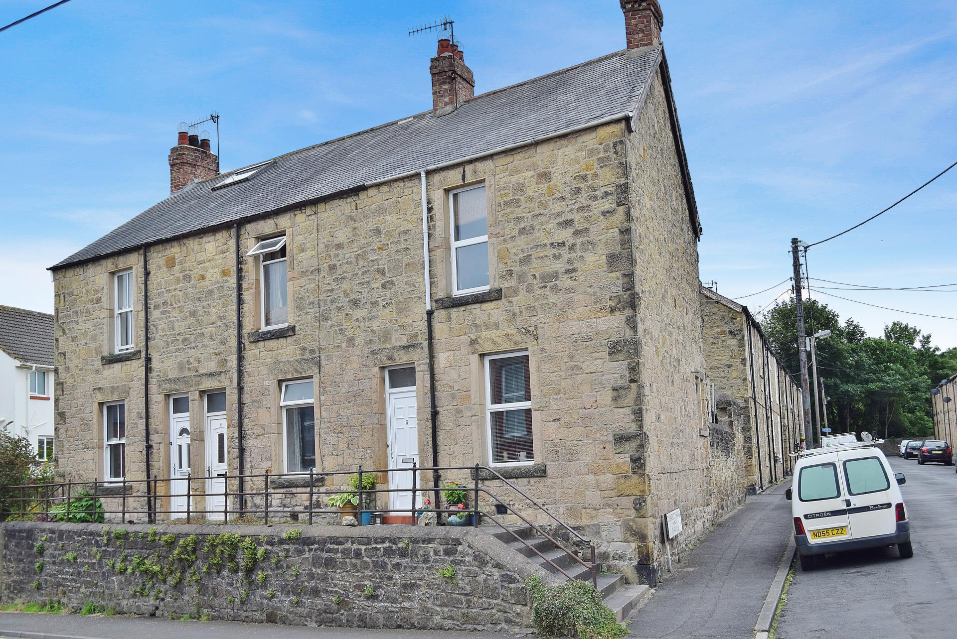 2 Bedrooms Terraced House for sale in Eilansgate Terrace, Hexham