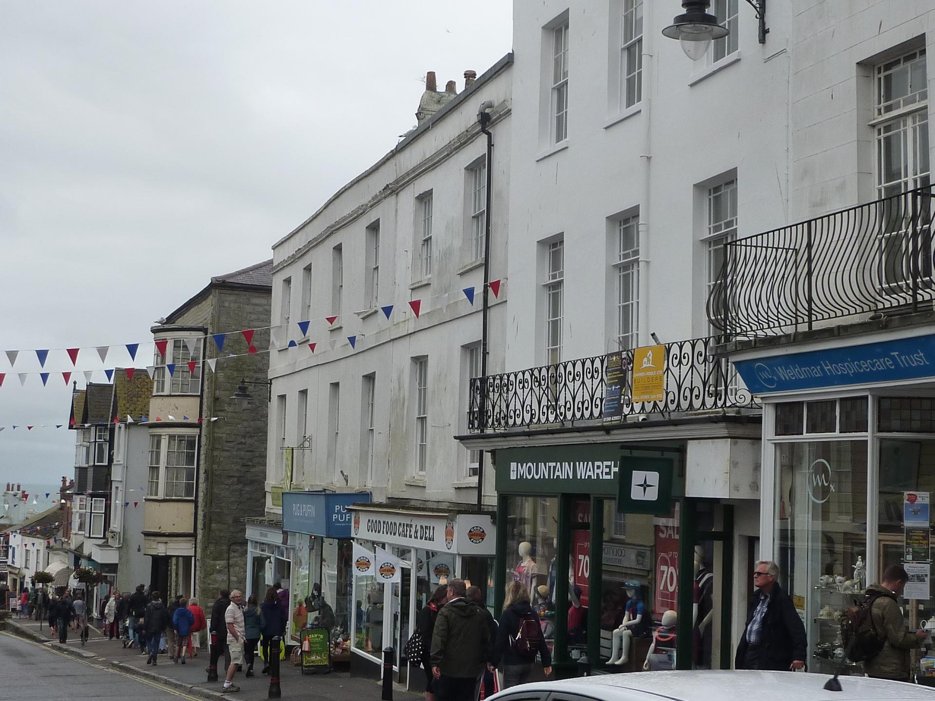 2 Bedrooms Apartment Flat for sale in Broad Street, Lyme Regis