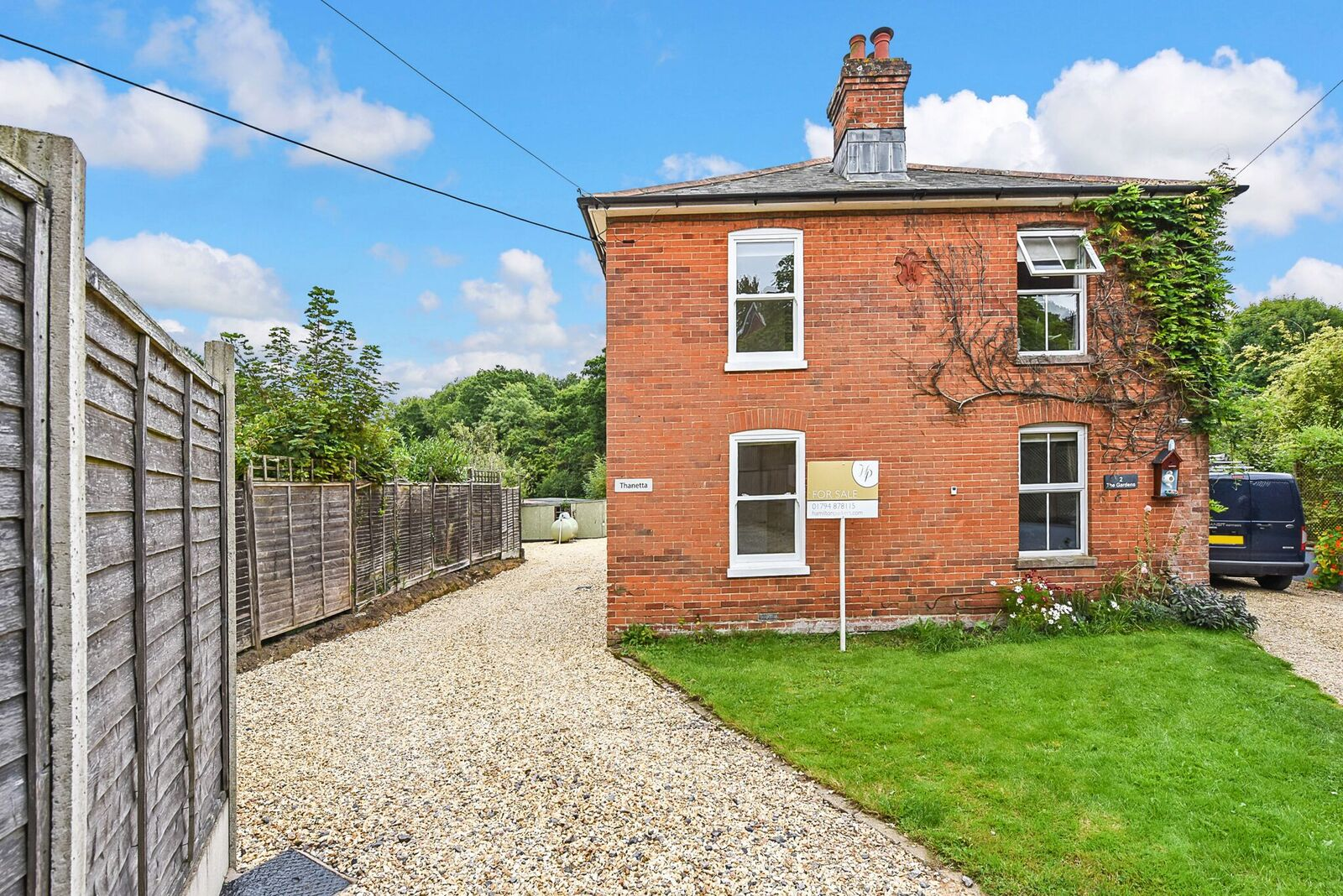 3 Bedrooms Semi Detached House for sale in Newtown, Road, Romsey