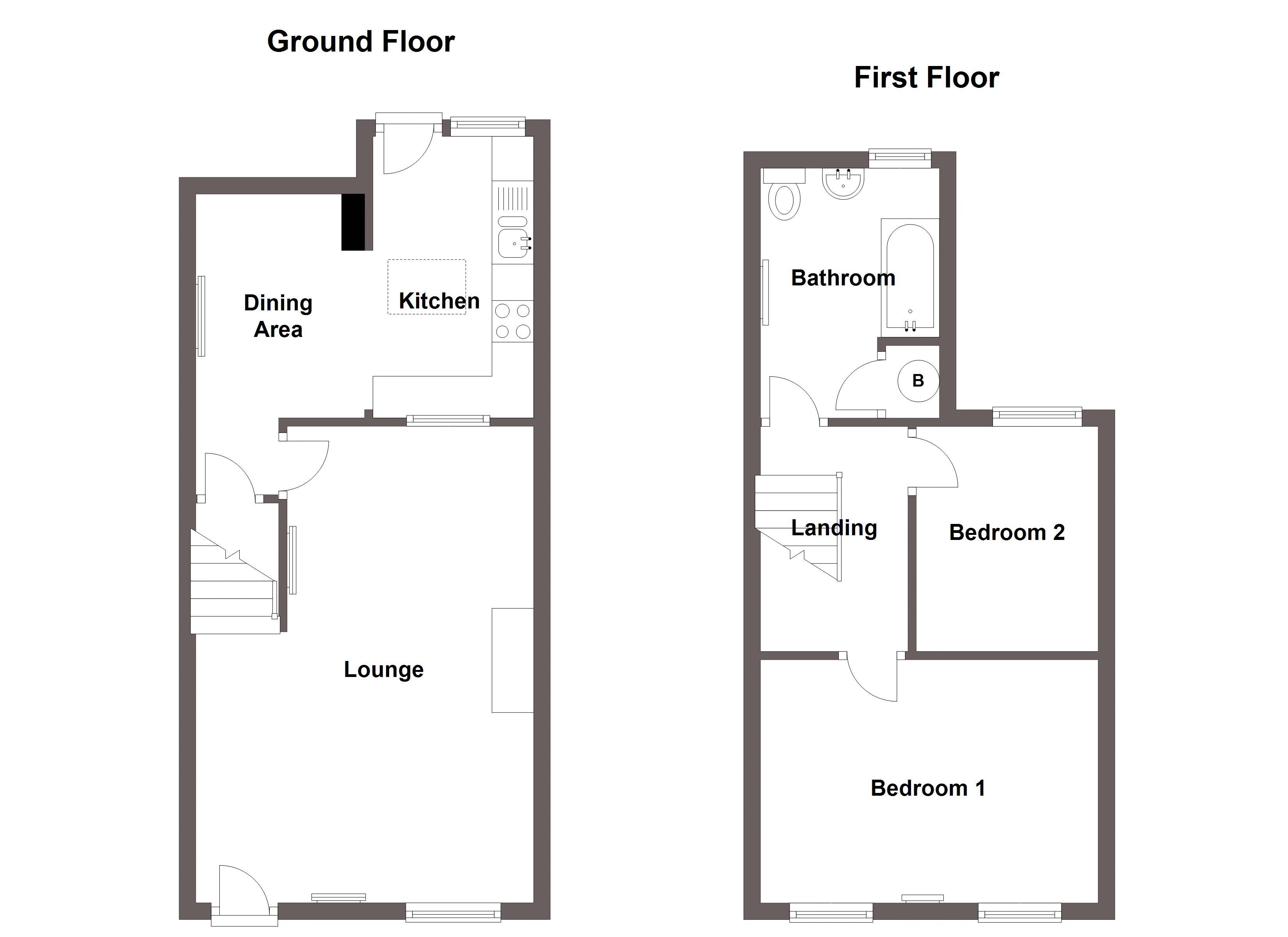 2 Bedroom House For Sale In Holyhead