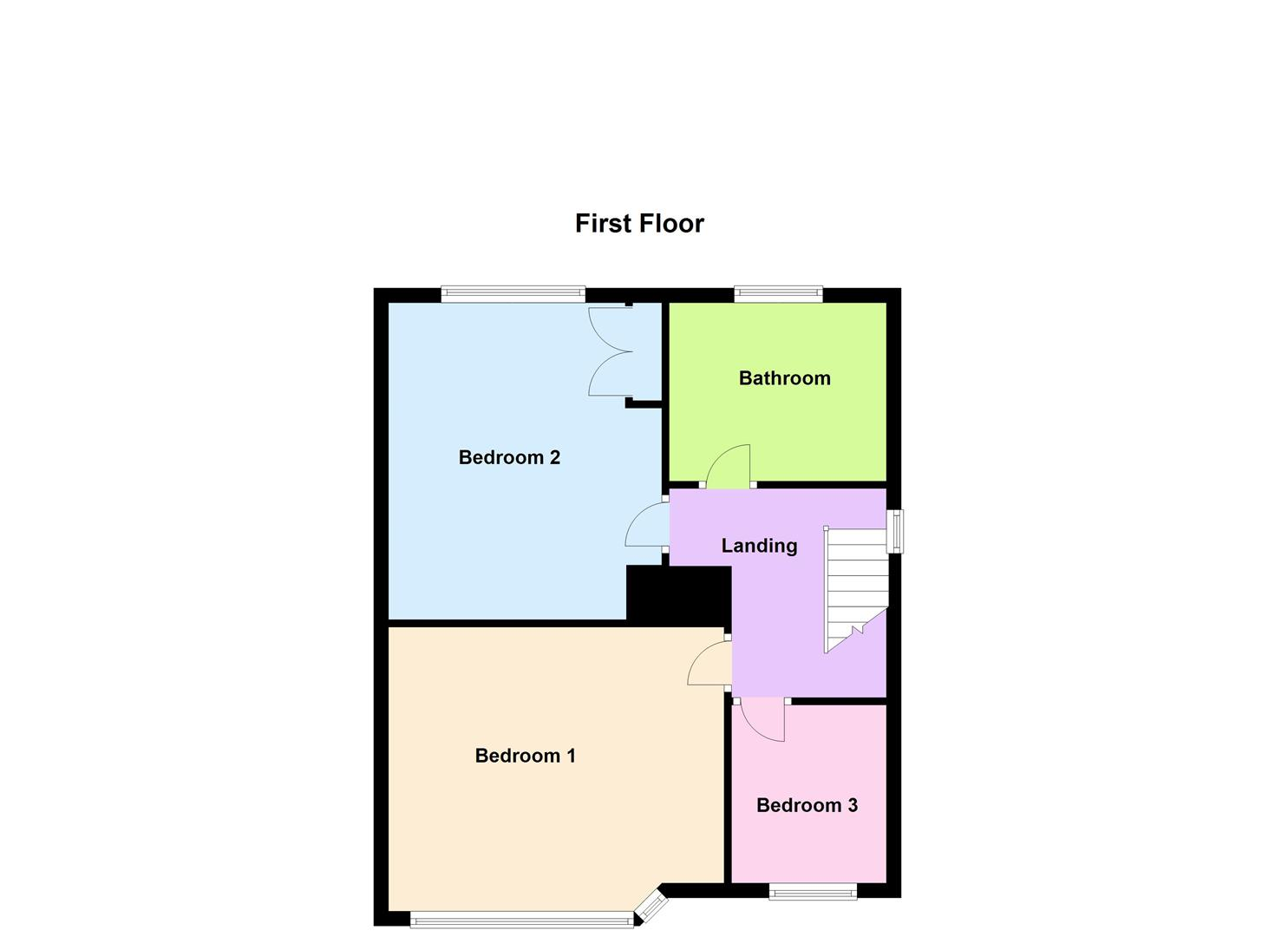 3 bedroom semi detached house for sale in blaby 10x12 bedroom design tips 10x12 bedroom layout