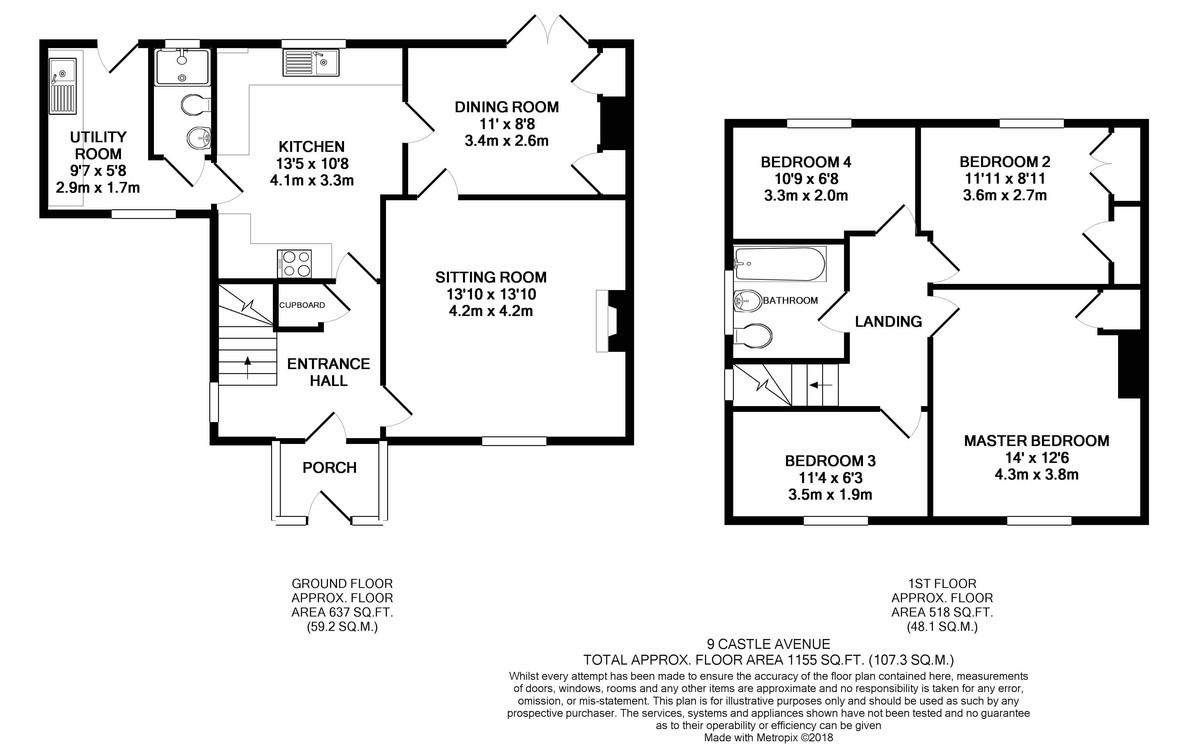 4 bedroom semi detached house for sale in blandford forum for Blandford homes floor plans