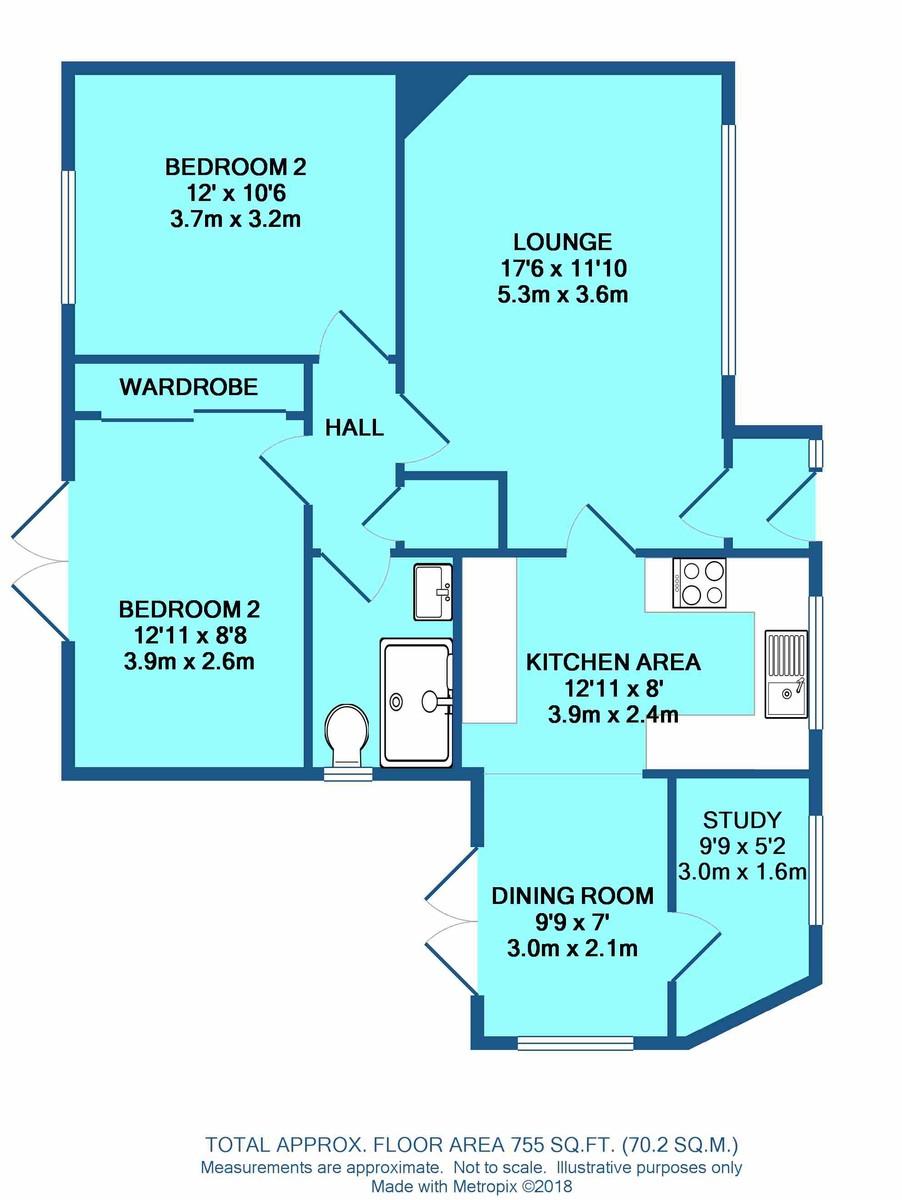 2 bedroom Detached Bungalow for sale in Brandon