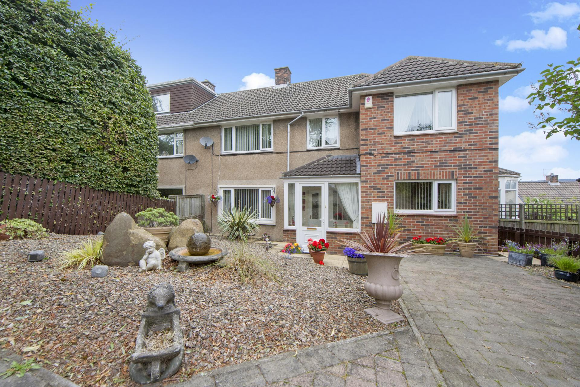 4 Bedrooms Semi Detached House for sale in Valebrook, Hexham